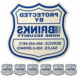 1 Home Security Yard Sign 6 Security Decals For Doors And Wi