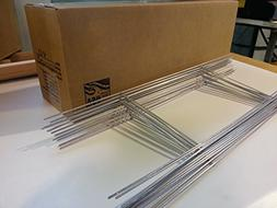 """50 Standard """"H"""" Frame Wire Stakes 10"""" x30"""" - Yard Sign Stake"""