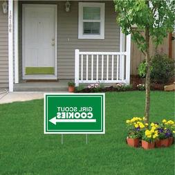 "12""x18"" Girl Scout Cookies For Sale - Yard Signs  with Stake"