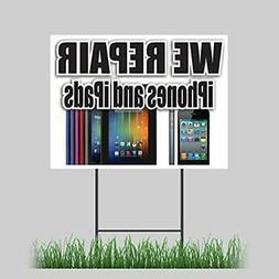 18&quotx24&quot We Sign & Poster Kits Repair Cell Phones And