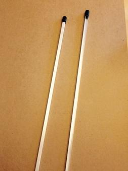 2 30 aluminum security yard sign stakes