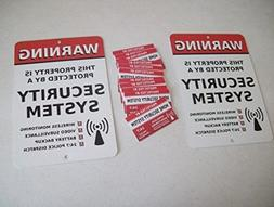 USA Premium Store 2 Home Security Alarm System Yard Signs &