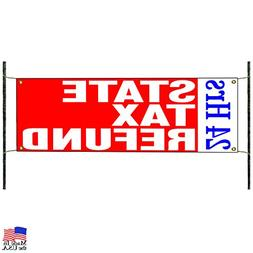 24 Hours State Tax Refunds Financial Promotional Advertising