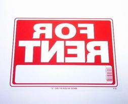 "3 Pk. BAZIC 12"" X 16"" For Rent Sign"