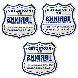 3 Security Yard Signs and 10 Home Security Stickers