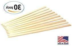 30 pack 23 wood stakes for garden