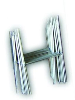 "50 H 10""x15"" Wire Step Stakes Holder Yard Sign Wire Stands -"