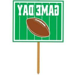 Beistle 54661 Game Day Yard Sign Pack Of 6