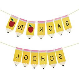 Back to School Pencil Banner - Back to School Banner - Class