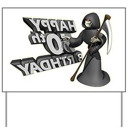CafePress - 50th Birthday Yard Sign - Yard Sign, Vinyl Lawn