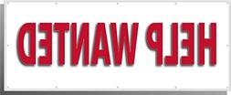 """Highway Traffic Supply """"HELP WANTED"""" Banner 48"""" Long 18"""" Hig"""