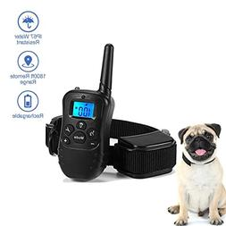 LYUS Rechargeable Dog Training Collar with Remote Waterproof