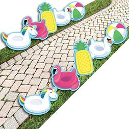 Make A Splash - Pool Party - Pool Floaties Lawn Decorations