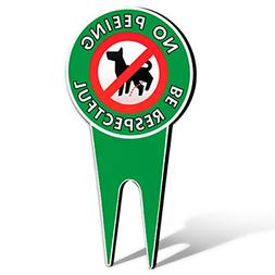 NEW Extra Large - No Peeing Dog Signs | Stop Dogs From Peein