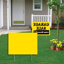 VictoryStore Outdoor Yard Sign Blanks - Corrugated Plastic 4