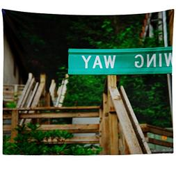 Westlake Art - Sign Street - Wall Hanging Tapestry - Picture