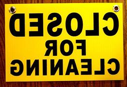 1 Pc Acceptable Unique Closed for Cleaning Coroplast Signs S