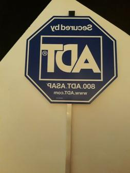 AUTHENTIC ADT SECURITY YARD SIGN and NO  stickers 19.99