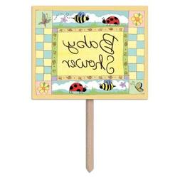 Bulk Buys B Is For Baby Yard Sign - Case of 72