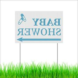 Baby Shower Yard Lawn Sign Outdoor Garden Party Decor Sign W