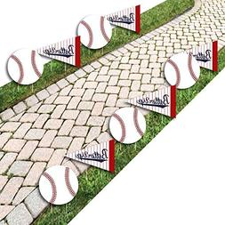 Batter up - Baseball Lawn Decorations - Outdoor Baby Shower