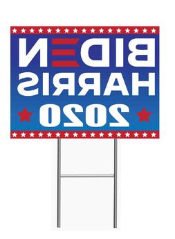 BIDEN HARRIS 2020 12x18 Yard Sign Corrugated Plastic Bandit