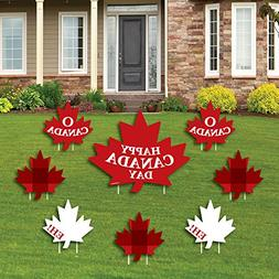 Big Dot of Happiness Canada Day - Yard Sign & Outdoor Lawn D