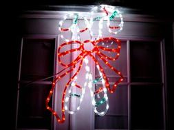 candy cane christmas decoration yard sign