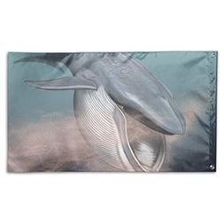 Cartoon Cute Gray Whale Home Garden Sign Decorated As Indoor