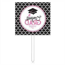 Creative Converting Congrats Yard Sign Party Decoration with