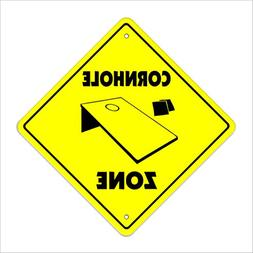 cornhole crossing sign zone xing