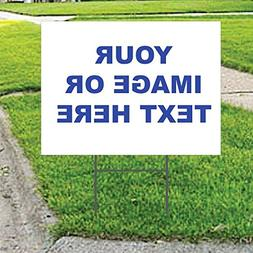 PP4U Custom Upload Your Own Image Yard Sign, Business Sale R