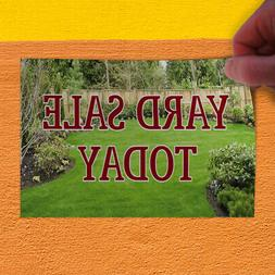 Decal Sticker Yard Sale Today Business Yard Sale Outdoor Sto
