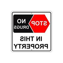 Ballkleid Decorative Sign Stop No Drugs In This In This Prop