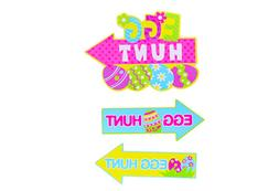 Easter Egg Hunt 3 Piece Yard Sign Set
