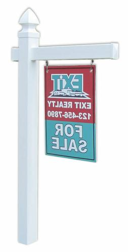Economy Real Estate Yard Sign Post with Easy Installation St