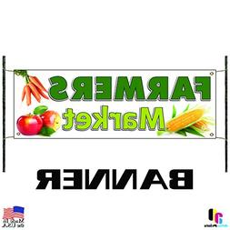 Farmers Market Vinyl Banner Sign Produce Fruit Vegetables Fr