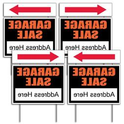 VictoryStore Yard Sign Outdoor Lawn Decorations - Garage Sal