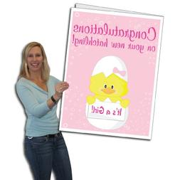 VictoryStore Jumbo Greeting Cards: Giant Baby Card  2' x 3'