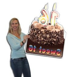 VictoryStore Jumbo Greeting Cards:  Giant Birthday Card , 2'