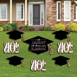 Gold - Tassel Worth The Hassle - Yard Sign & Outdoor Lawn De