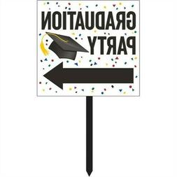 Graduation Directional Yard Sign Graduation Party Supplies D