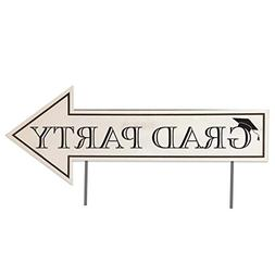VictoryStore Graduation Party Directional Signs with 2 stake