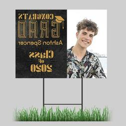 Graduation Yard Sign Senior 2020 24x18 - Includes H-Stake To