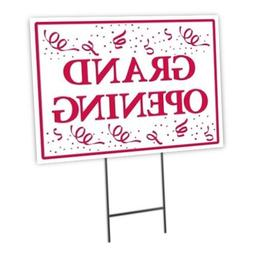 Grand Opening Full Color Double Sided Sidewalk Signs