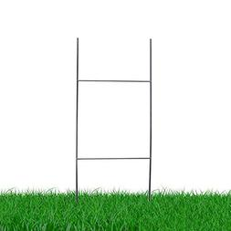 "MTB H Frame Wire Stakes 30""x10"" 9ga wire Pack of 25 - Yard S"