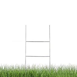 "H Frame Wire Stakes 20""x10"" 9ga wire, Pack of 25 - Yard Sign"