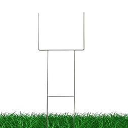 """H Frame Wire Stakes 30""""x10"""" 9ga Metal Heavy Duty, Yard Sign"""