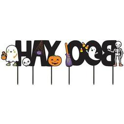 Amscan Halloween Boo-Yah Yard Signs outdoor