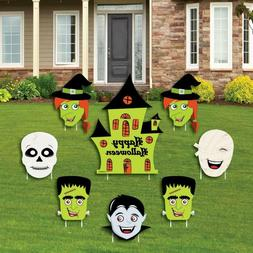 Big Dot Of Happiness Halloween Monsters - Yard Sign And Outd